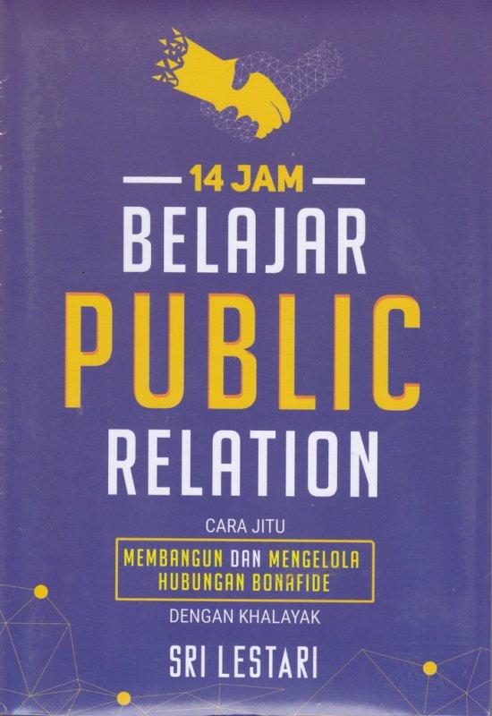 Cover Buku 14 JAM BELAJAR PUBLIC RELATION