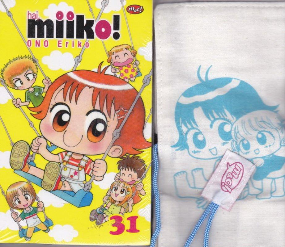 Cover Belakang Buku Komik Hai, Miiko 31 - edisi khusus (bonus totebag) oleh Eriko Ono