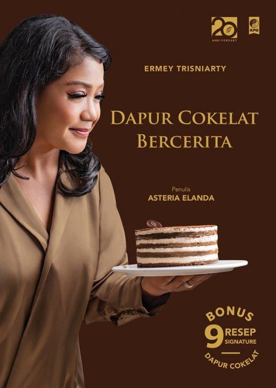 Cover Buku Ermey Trisniarty: Dapur Cokelat Bercerita