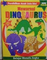 Pendidikan Anak Usia Dini : Mewarnai Dinosaurus