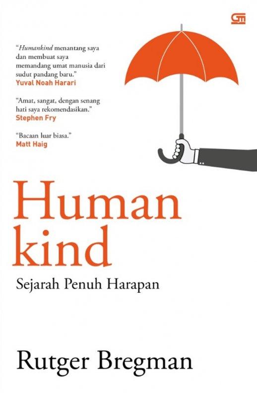 Cover Buku Humandkind: Sejarah Penuh Harapan