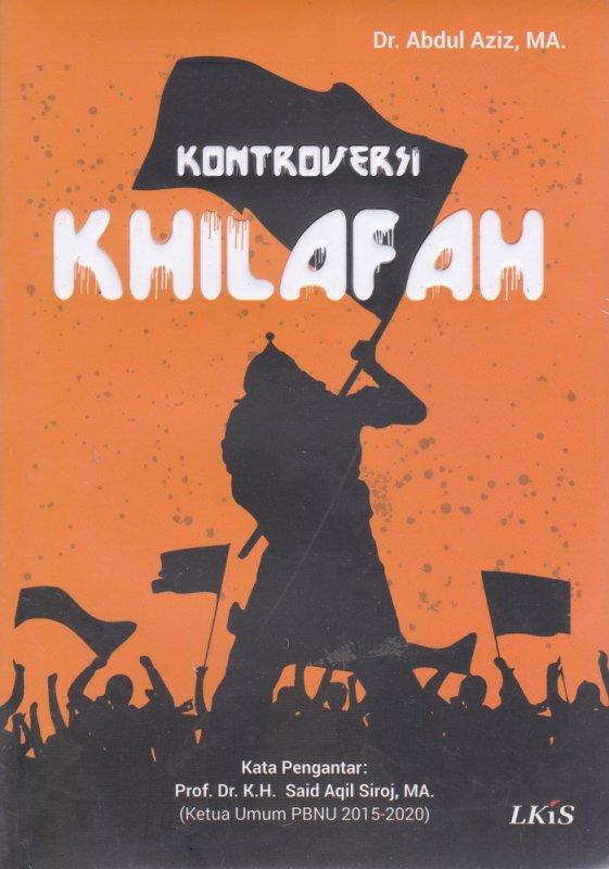Cover Buku Kontroversi Khilafah New