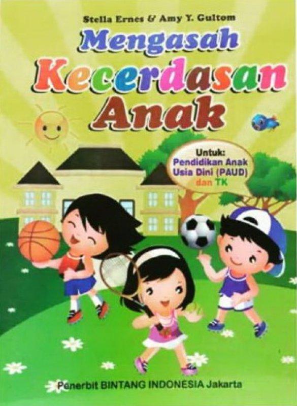 Cover Buku Mengasah Kecerdasan Anak (PAUD dan TK)