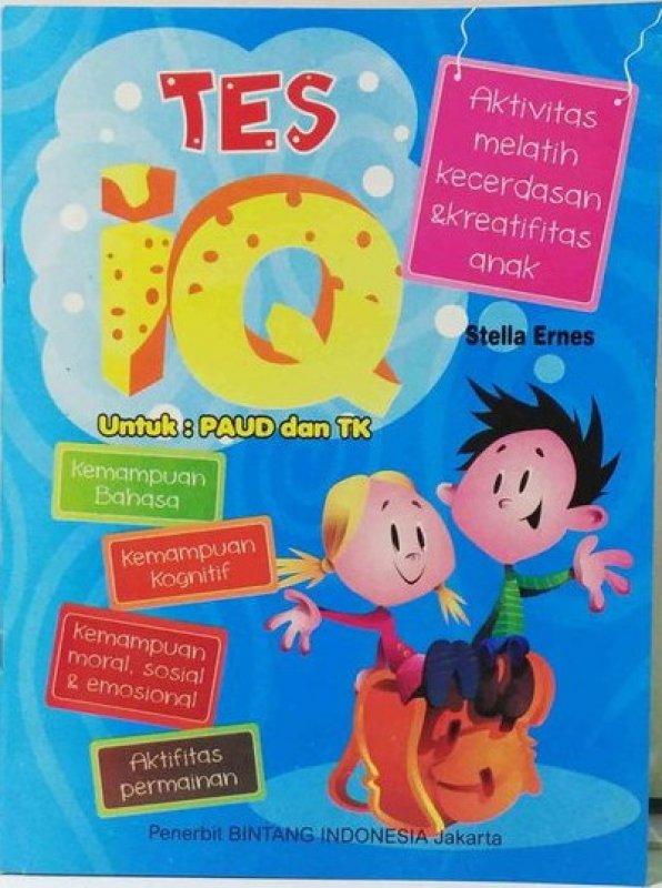 Cover Buku Tes IQ Untuk PAUD dan TK