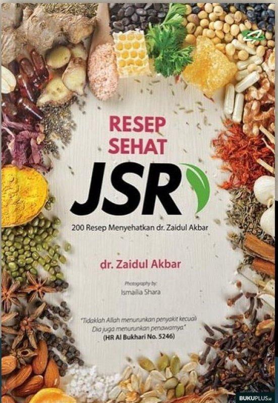 Cover Buku Resep Sehat JSR (Edisi Terbaru)