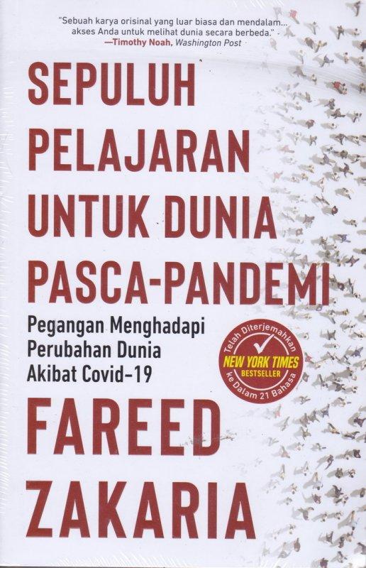Cover Buku Sepuluh Pelajaran Untuk Dunia Pasca-Pandemi