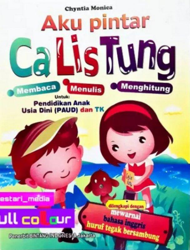 Cover Buku Aku Pintar Calistung (Paud dan TK)