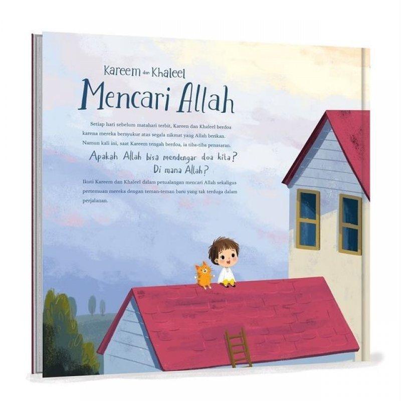 Cover Belakang Buku Kareem dan Khaleel Mencari Allah