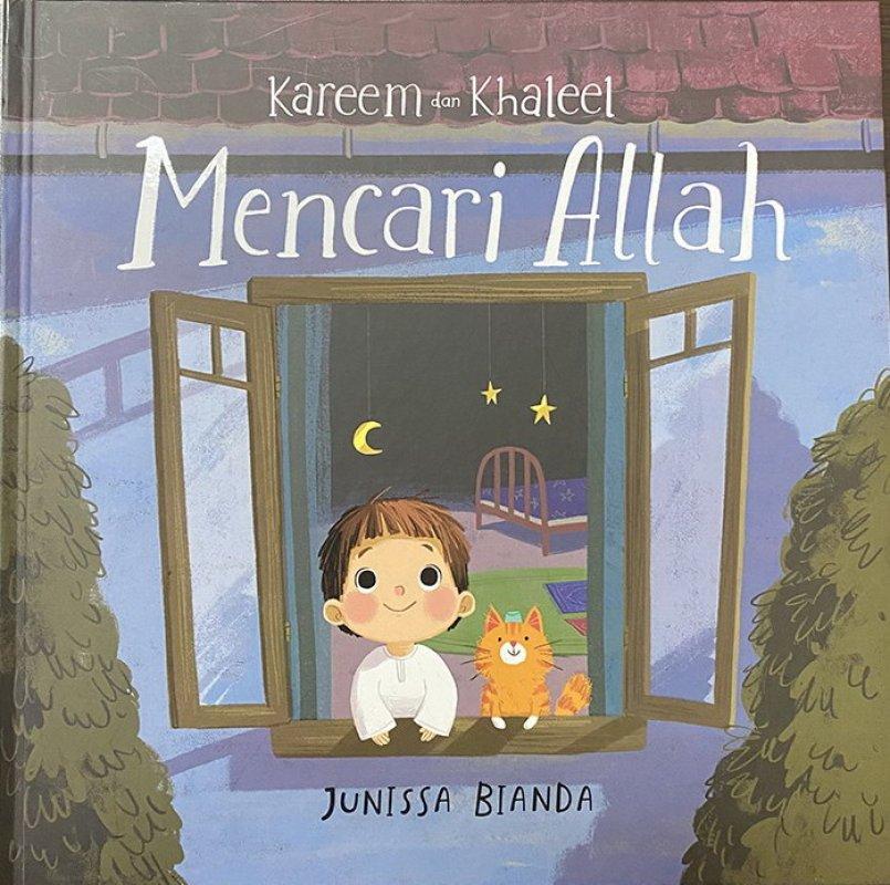Cover Buku Kareem dan Khaleel Mencari Allah