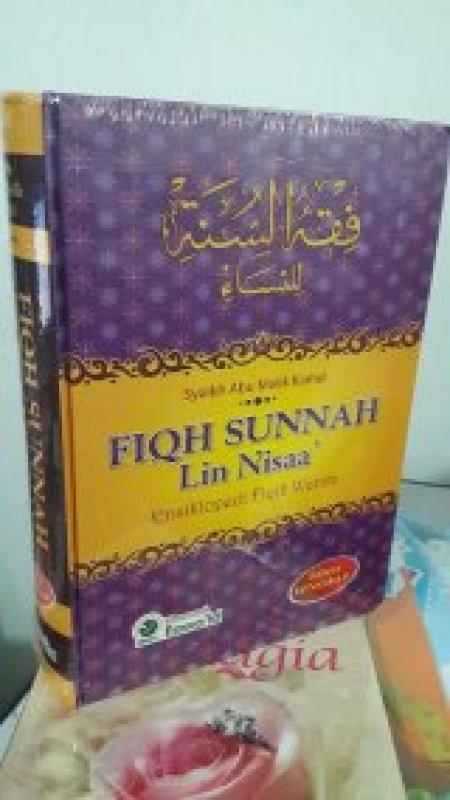 Cover Belakang Buku FIQH SUNNAH Lin Nisaa - Ensiklopedi Fiqih Wanita Edisi Lengkap (HC) BK (2021)