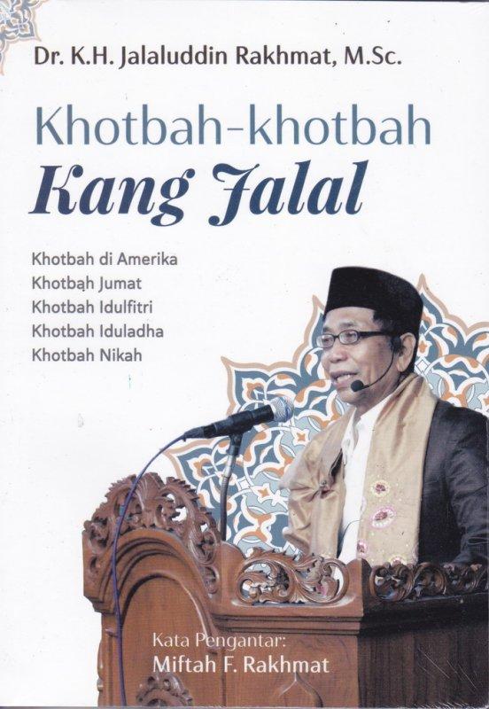 Cover Buku Khotbah-Khotbah Kang Jalal