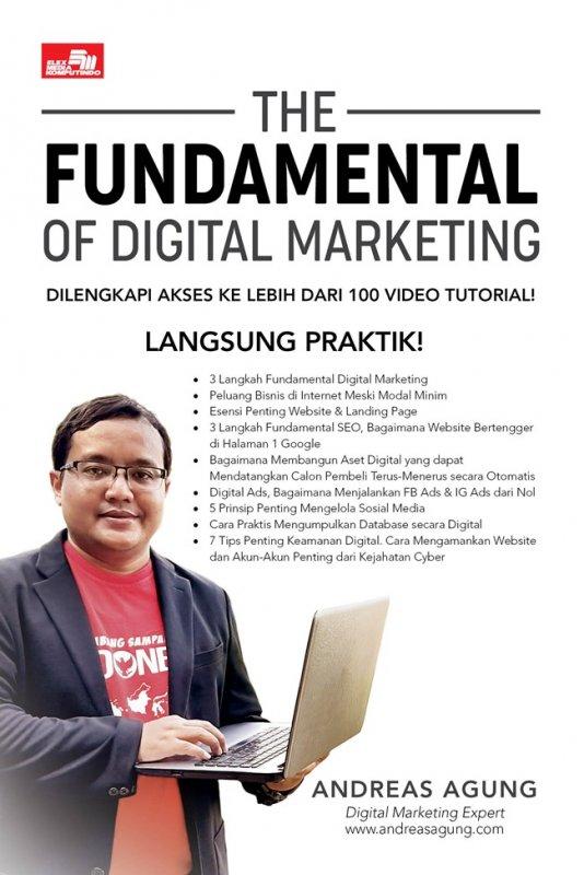 Cover Buku The Fundamental Of Digital Marketing