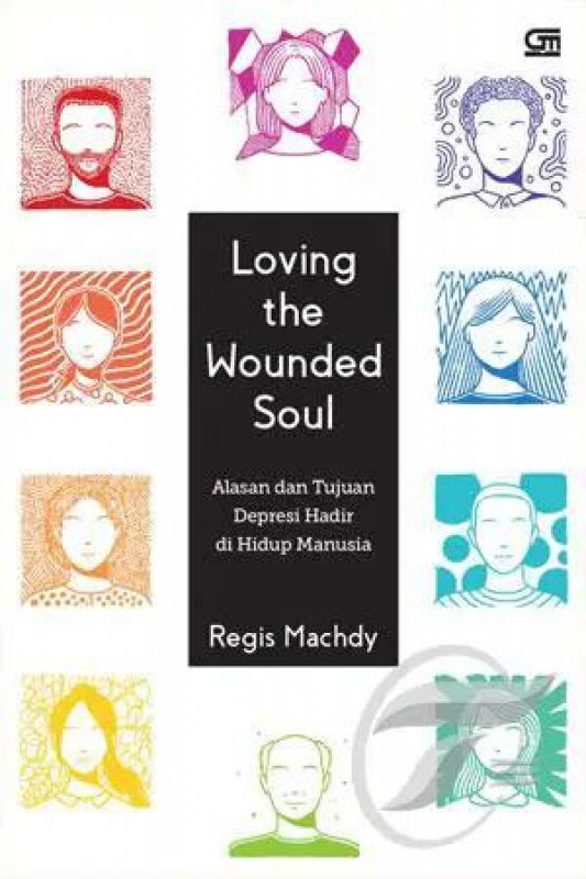 Cover Buku Loving The Wounded Soul