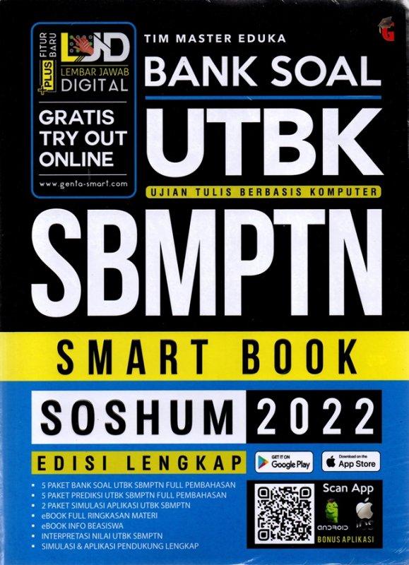 Cover Buku Bank Soal Soshum Utbk Sbmptn 2022