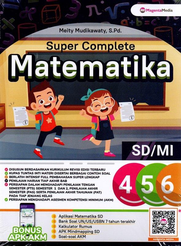 Cover Belakang Buku Super Complete Matematika Sd/Mi 4,5,6