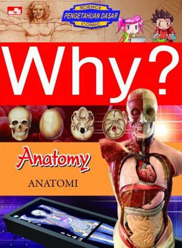 Cover Buku Why? Anatomy