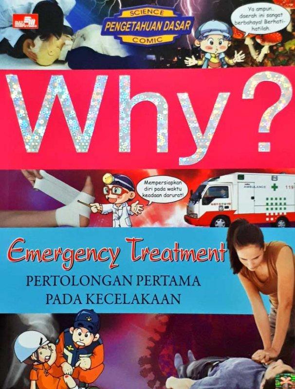 Cover Buku Why? Emergency Treatment
