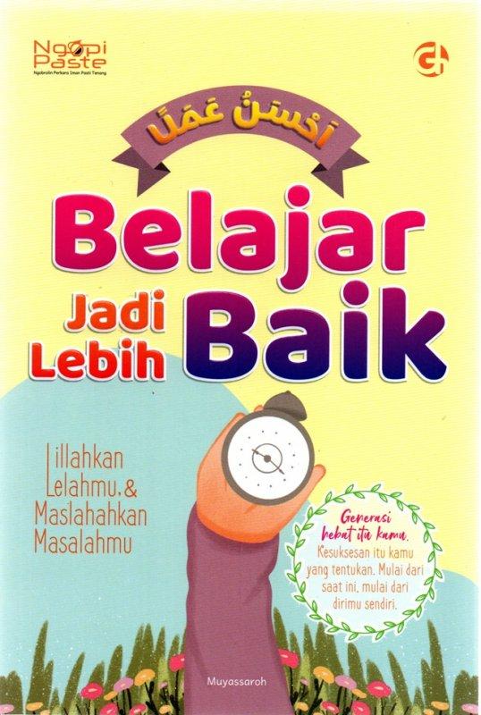 Cover Belakang Buku Belajar Jadi Lebih Baik