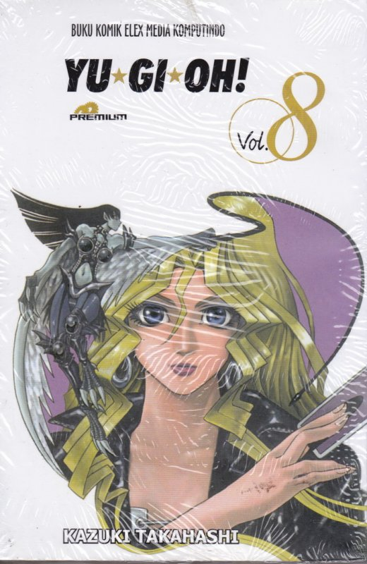 Cover Belakang Buku  YU-GI-OH ! (Premium) 08