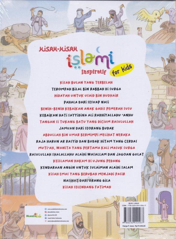 Cover Belakang Buku Kisah-KIsah Islami Inspiratif