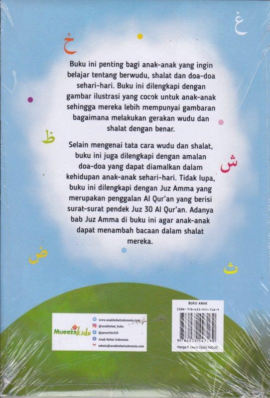 Cover Belakang Buku Tata Cara Shalat Doa & Juz Amma for Smart Kids