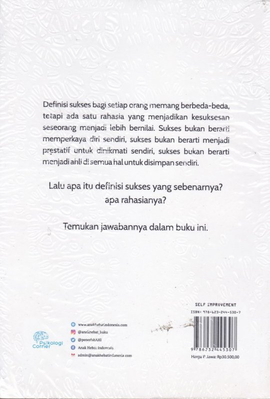Cover Belakang Buku SENI MEMBERI