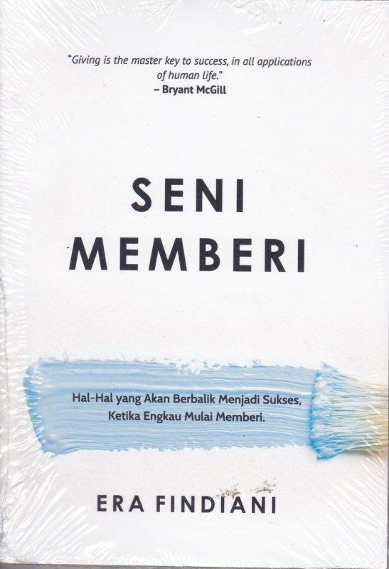 Cover Buku SENI MEMBERI
