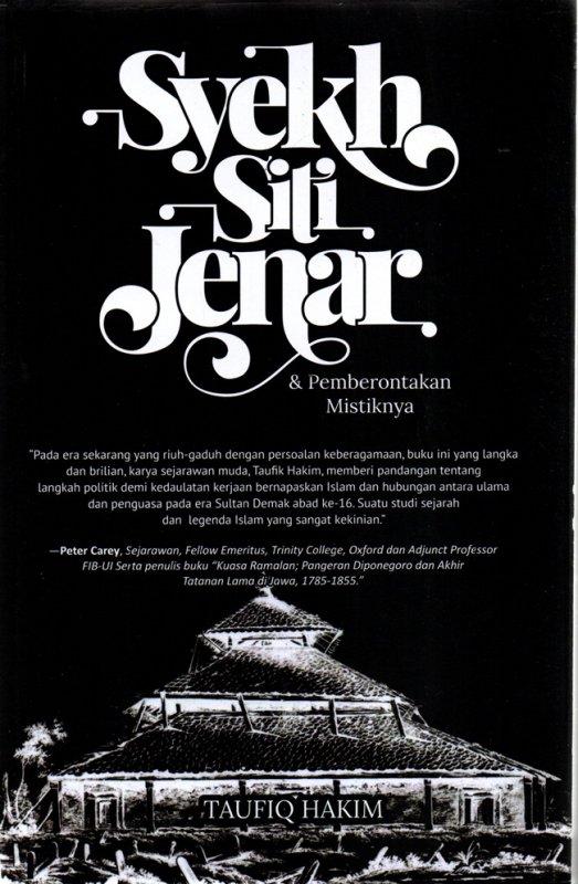 Cover Buku Syekh Siti Jenar & Pemberontakan Mistiknya