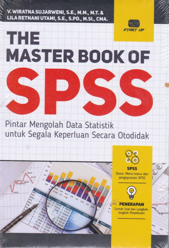 Cover Buku THE MASTER BOOK OF SPSS