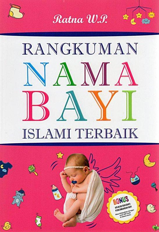 Cover Buku Rangkuman Nama Bayi Islami Terbaik