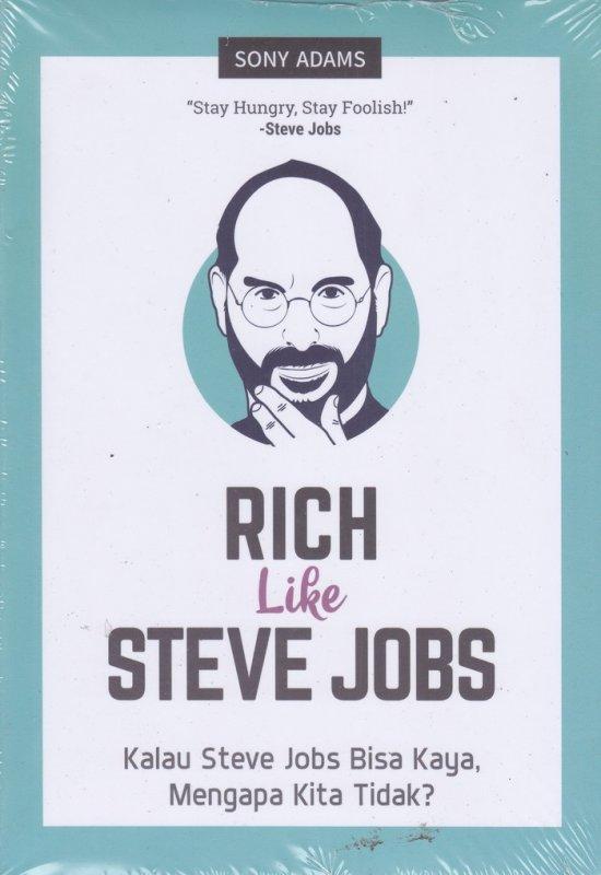 Cover Buku RICH Like STEVE JOBS