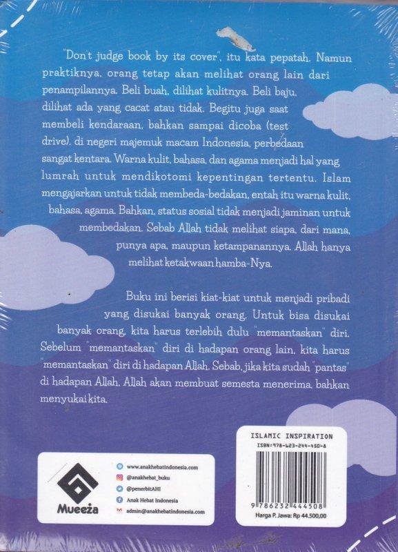 Cover Belakang Buku Menjadi Pribadi Yang Loveable
