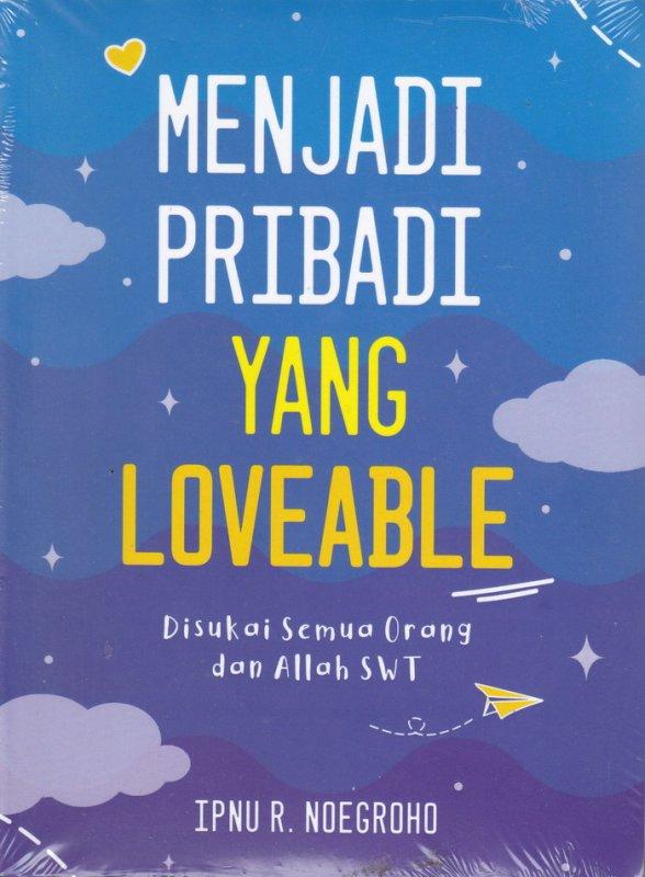 Cover Buku Menjadi Pribadi Yang Loveable