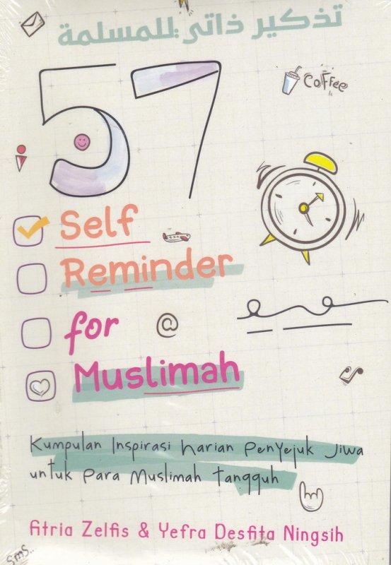 Cover Buku 57 Self Reminder For Muslim