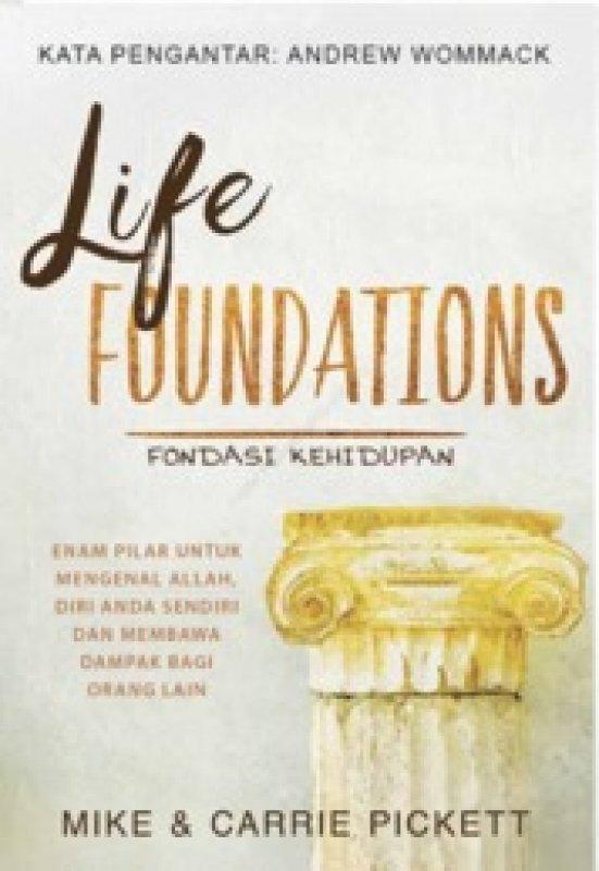 Cover Belakang Buku Fondasi Kehidupan