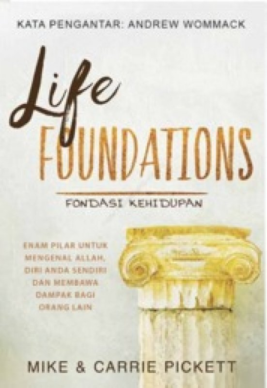 Cover Buku Fondasi Kehidupan