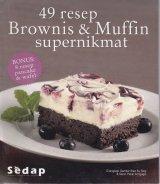 Buku 49 Resep Brownis & Muffin Supernikmat Bonus 8 resep pancake & wafel Bk