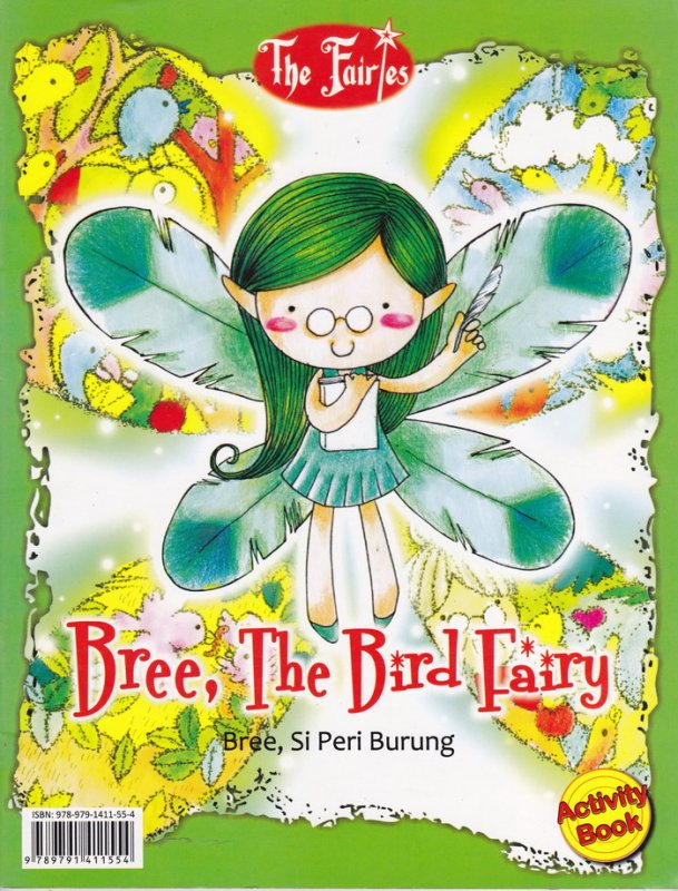 Cover Belakang Buku Bree, Si Peri Burung (Disc 50%)