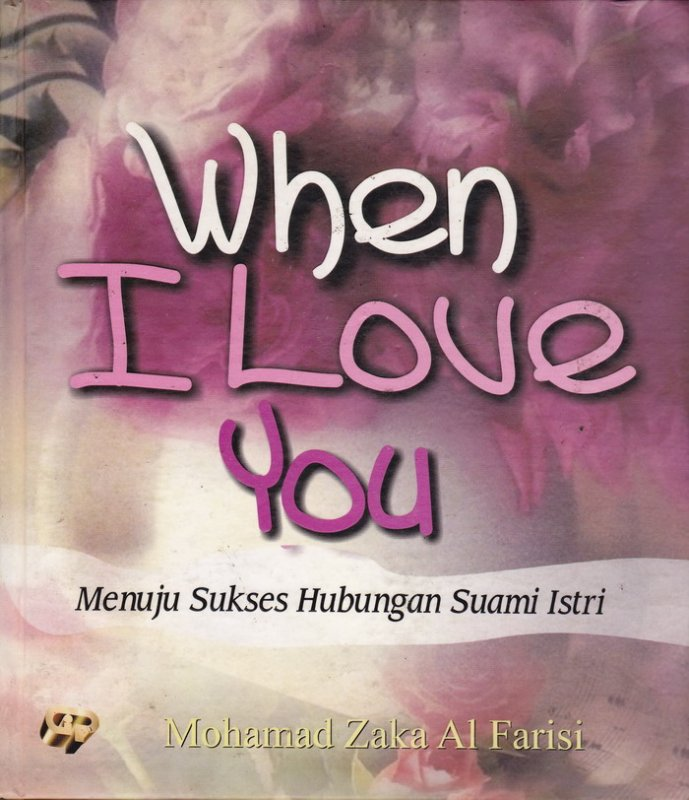 Cover Buku When I Love You
