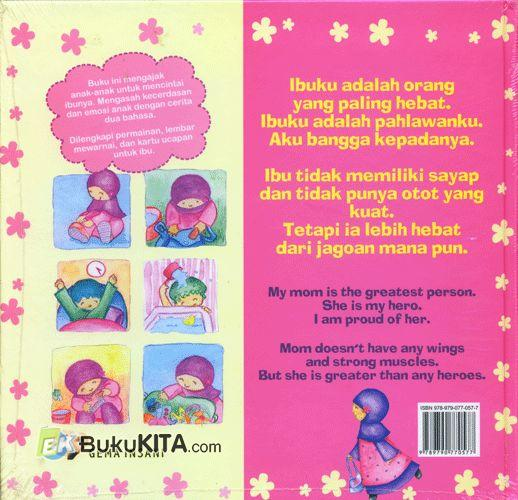 Cover Belakang Buku Ibuku Pahlawanku
