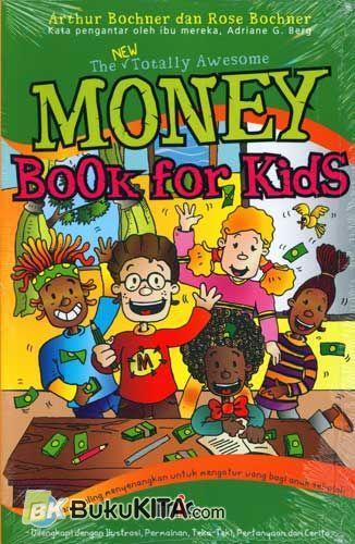 Cover Buku Money Book For Kids