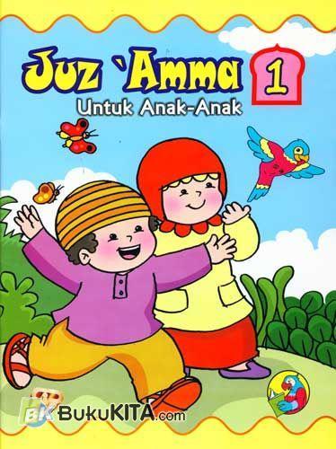 Cover Buku Juz Amma untuk Anak Jilid 1