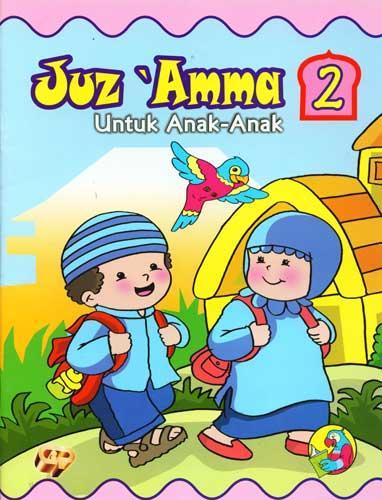 Cover Buku Juz Amma untuk Anak Jilid 2