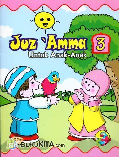 Cover Buku Juz Amma untuk Anak Jilid 3