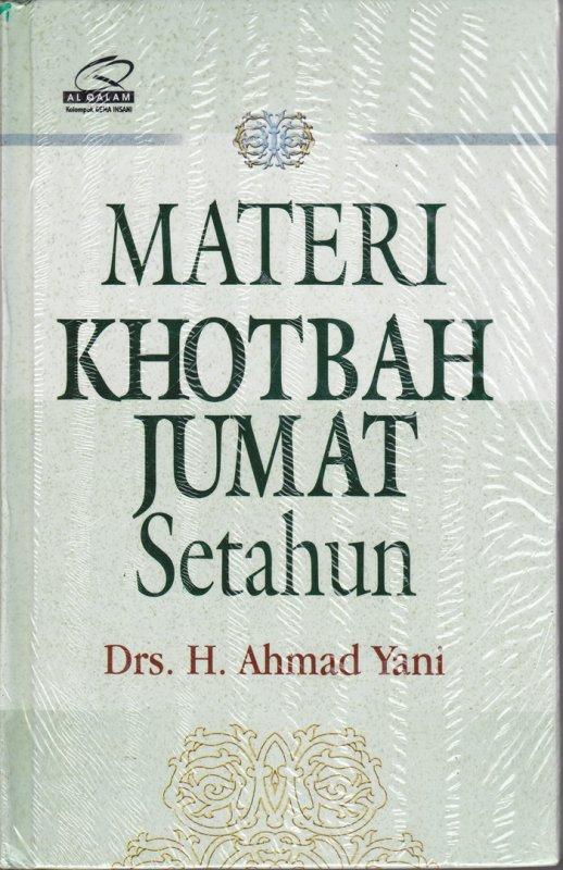 Cover Buku Materi Khotbah Jumat Setahun