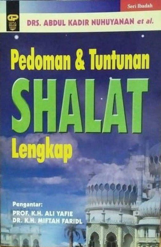 Cover Buku Pedoman dan Tuntunan Shalat Lengkap