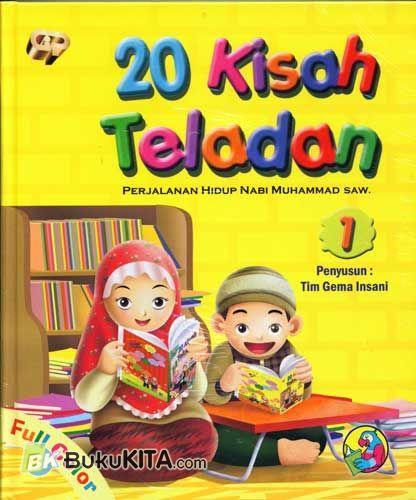 Cover Buku 20 Kisah Teladan 1