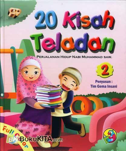 Cover Buku 20 Kisah Teladan 2
