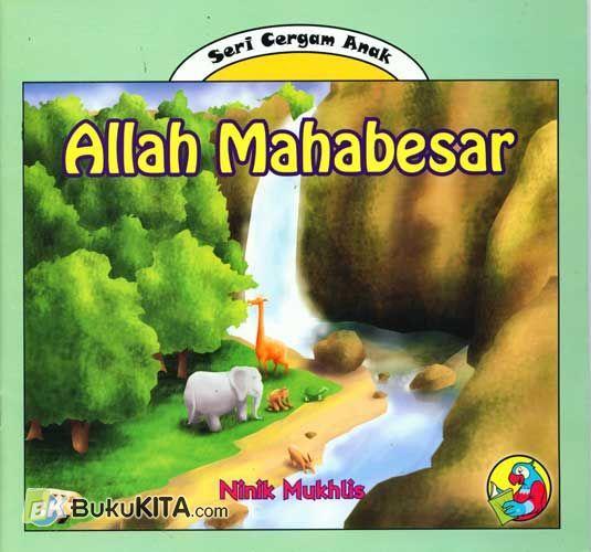 Cover Buku Allah Maha Besar