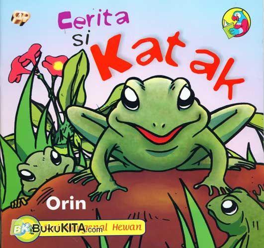 Cover Buku Cerita Si Katak
